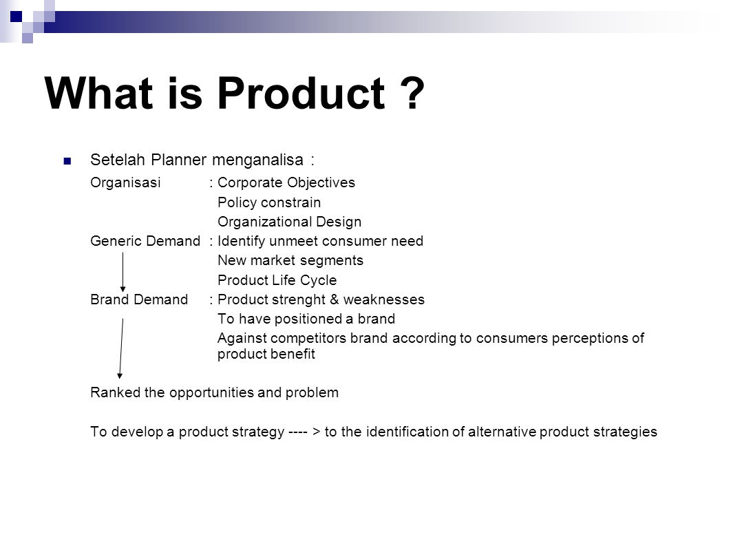 What is Product .