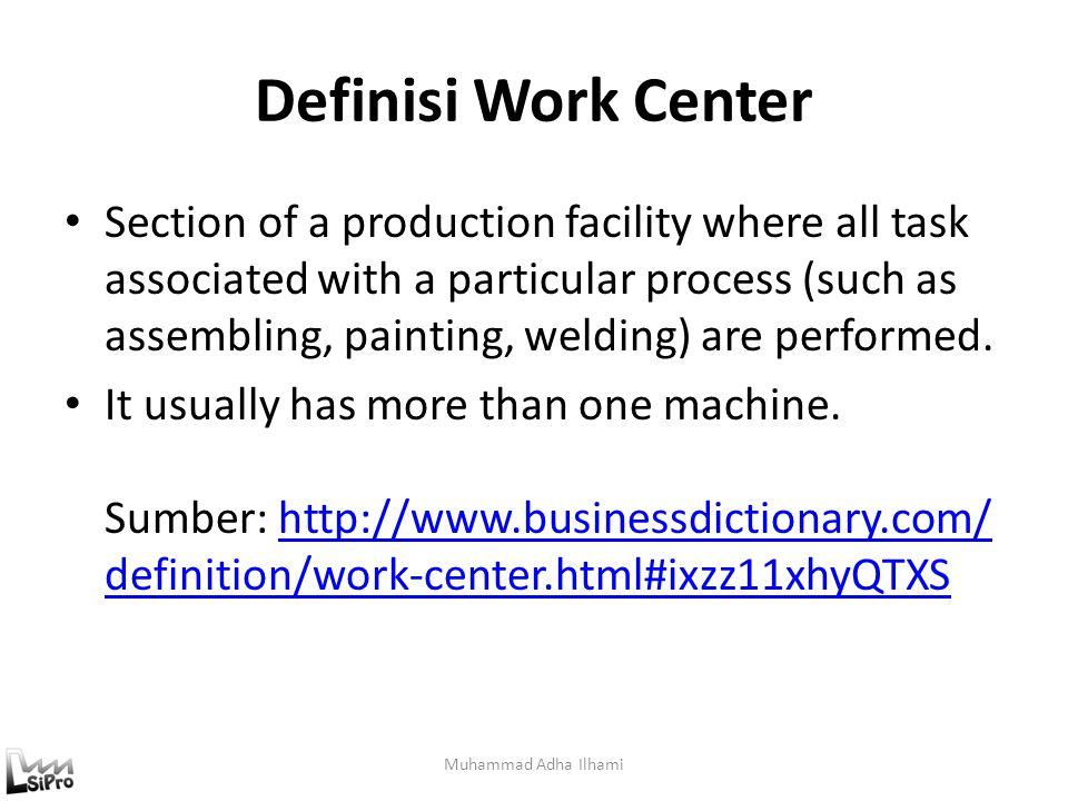 Capacity in Sequence (Illustration) Muhammad Adha Ilhami 20/jam 10/jam 15/jam Dalam satu jam hanya akan dihasilkan 10 unit Dalam 1 jam menghasilkan 20 unit Meski ada inputan 20 unit dalam 1 jam.
