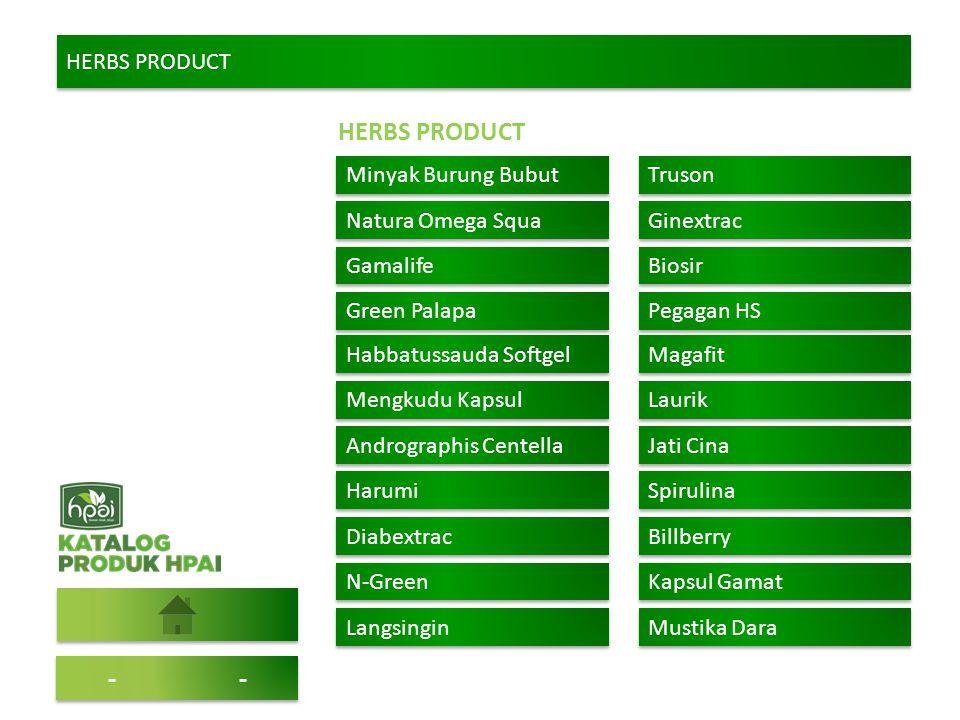 HERBS PRODUCT -- Minyak Burung Bubut Truson Natura Omega Squa Ginextrac Gamalife Biosir Green Palapa Pegagan HS Habbatussauda Softgel Magafit Mengkudu