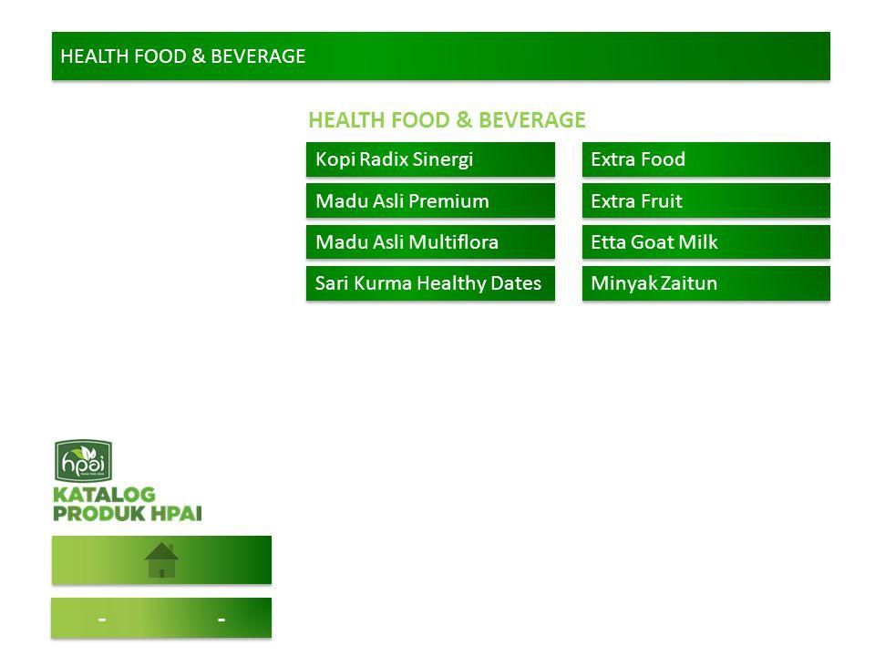 HEALTH FOOD & BEVERAGE -- Kopi Radix Sinergi Extra Food Madu Asli Premium Extra Fruit Madu Asli Multiflora Etta Goat Milk Sari Kurma Healthy Dates Min
