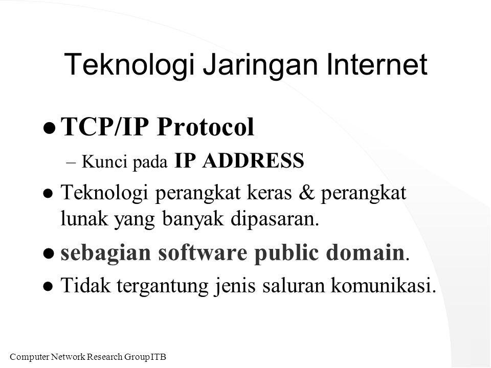 Computer Network Research Group ITB Beberapa Obsesi Teknologi Informasi di ITB l Build a Satellite Ground Station.