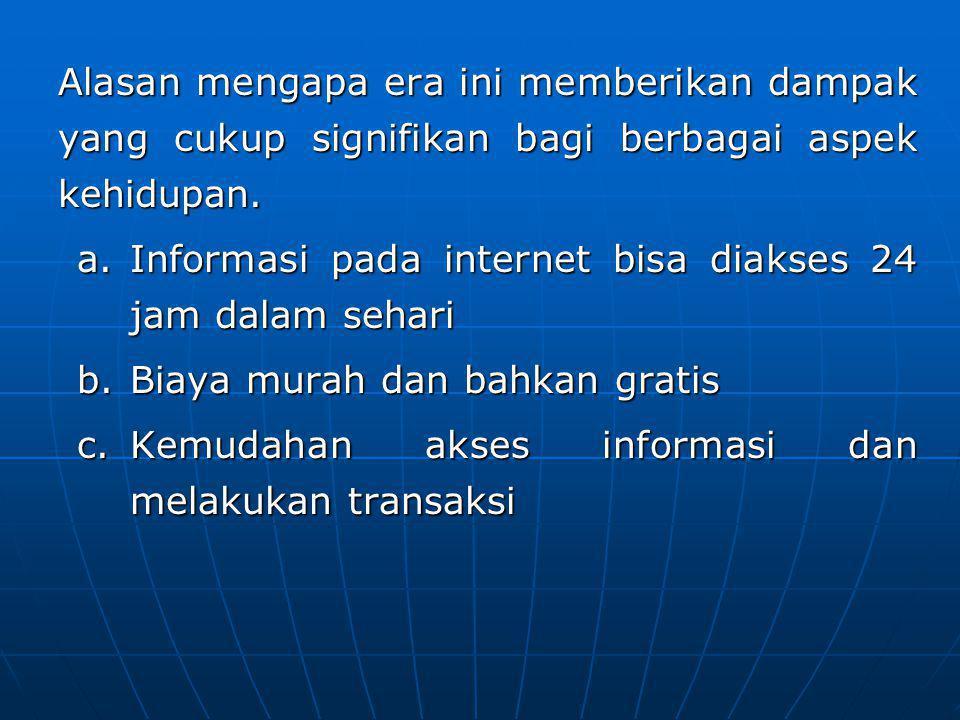 11.2 Karakteristik Cybercrime Selama ini dalam kejahatan konvensional, kita mengenal adanya 2 jenis kejahatan sebagai berikut: a.Kejahatan kerah biru (blue collar crime) b.Kejahatan kerah putih (white collar crime)