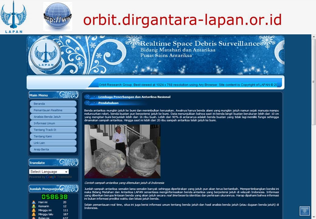 orbit.dirgantara-lapan.or.id