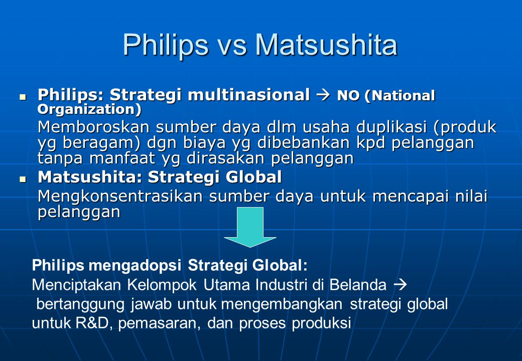 Tahap Tiga: Multinasional Menemukan bhw pasar yang berbeda memerlukan beberapa penyesuaian/adaptasi Menemukan bhw pasar yang berbeda memerlukan bebera