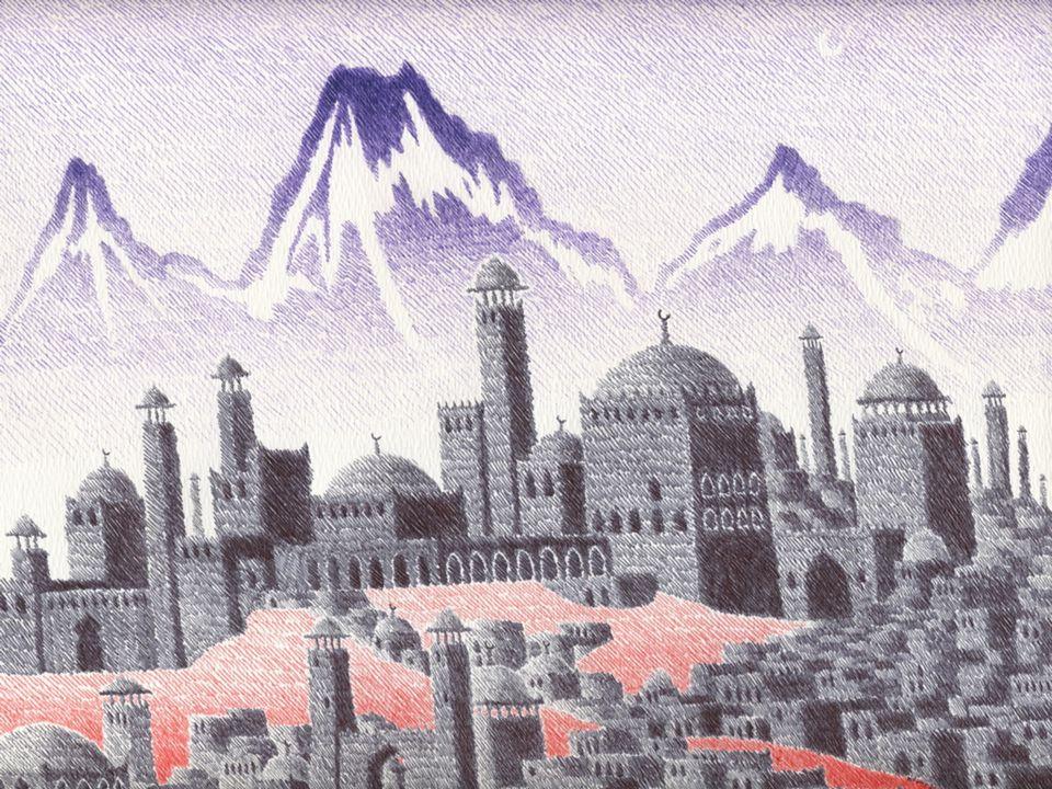 Foto ekonomi islam zaman dahulu pada puncak kejayaannya.