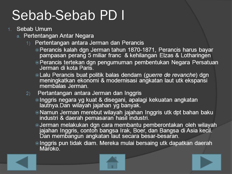 Akibat PD I 1.