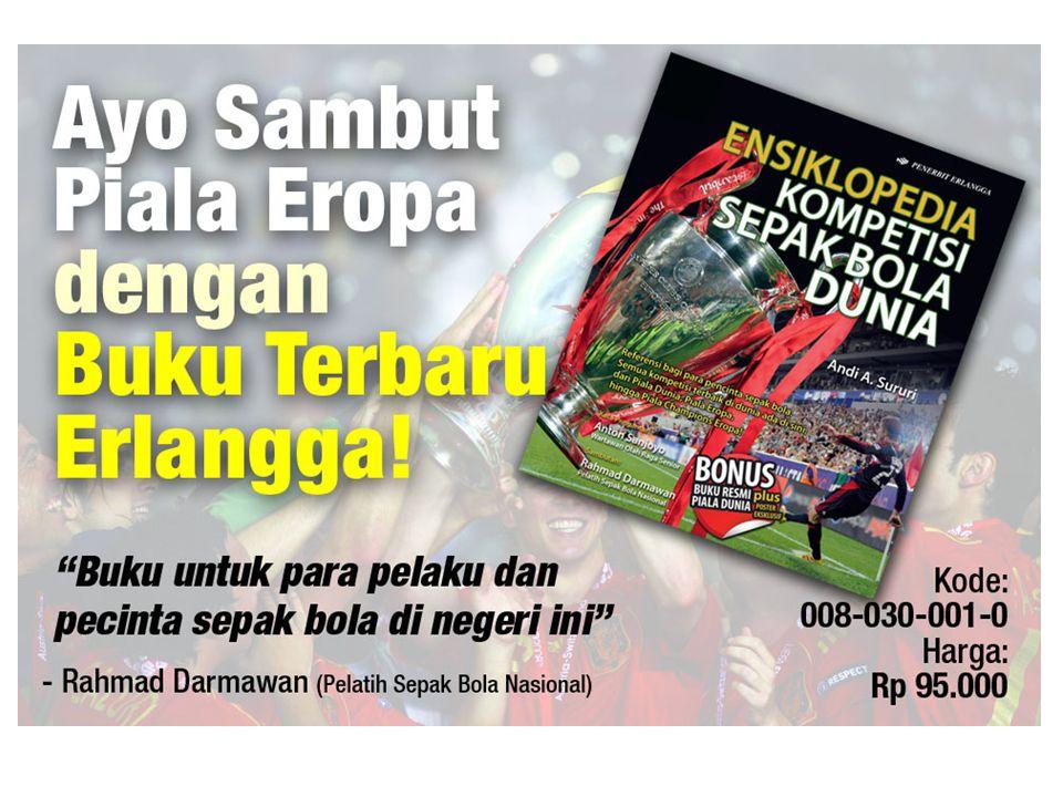Paket Ensiklopedia Kompetisi Sepak Bola Dunia Penulis: Andi A.