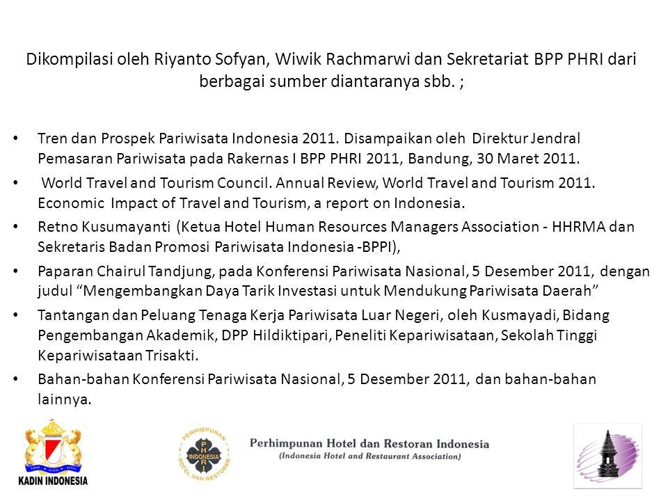 Dikompilasi oleh Riyanto Sofyan, Wiwik Rachmarwi dan Sekretariat BPP PHRI dari berbagai sumber diantaranya sbb.