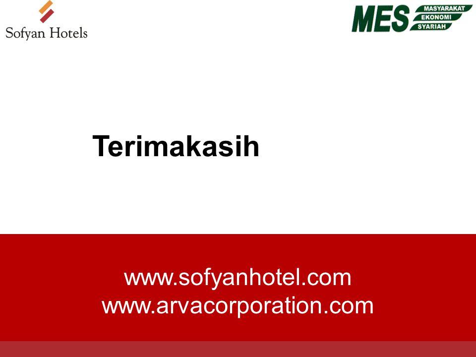 www.sofyanhotel.com www.arvacorporation.com Terimakasih