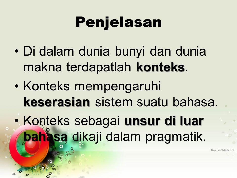 1.Penggunaan Bentuk Pronomina andabeliauKata anda dan beliau dalam bahasa Indonesia.