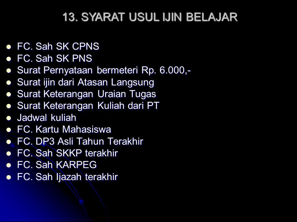 FC. Sah SK CPNS FC. Sah SK CPNS FC. Sah SK PNS FC. Sah SK PNS Surat Pernyataan bermeteri Rp. 6.000,- Surat Pernyataan bermeteri Rp. 6.000,- Surat ijin