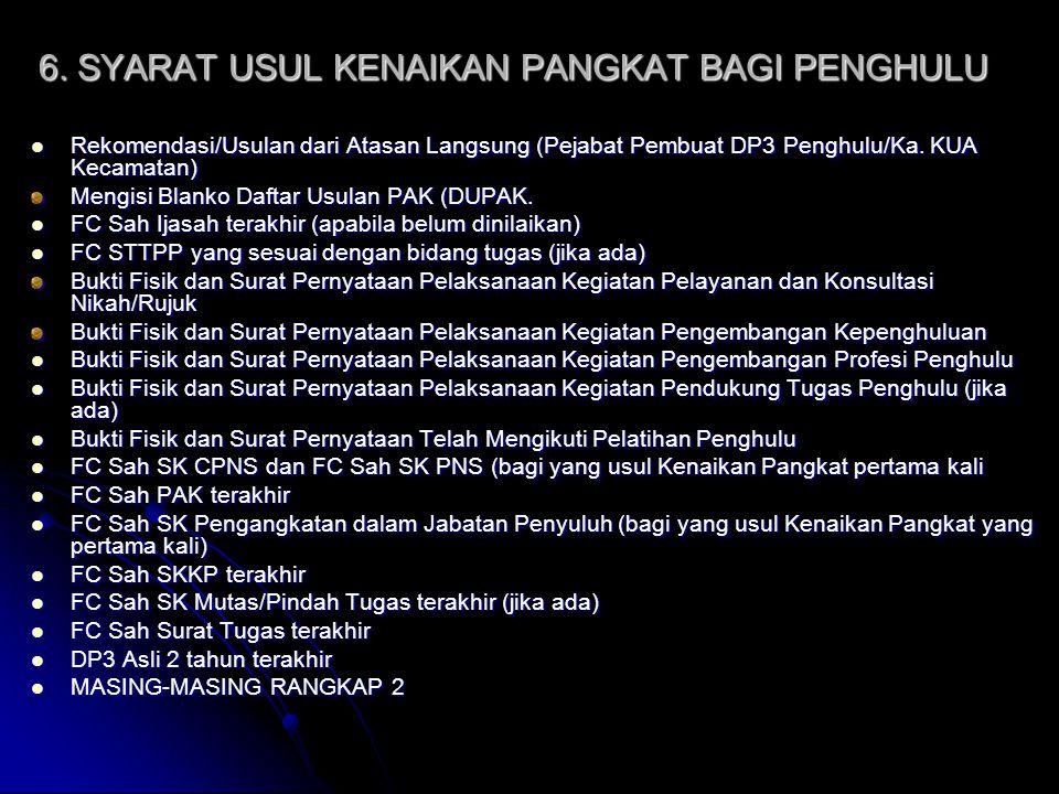 17.SYARAT USUL PENSIUN Mengisi blanko DPCP Mengisi blanko DPCP FC.