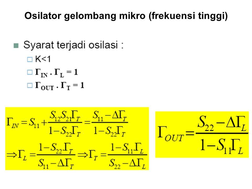 Osilator gelombang mikro (frekuensi tinggi)