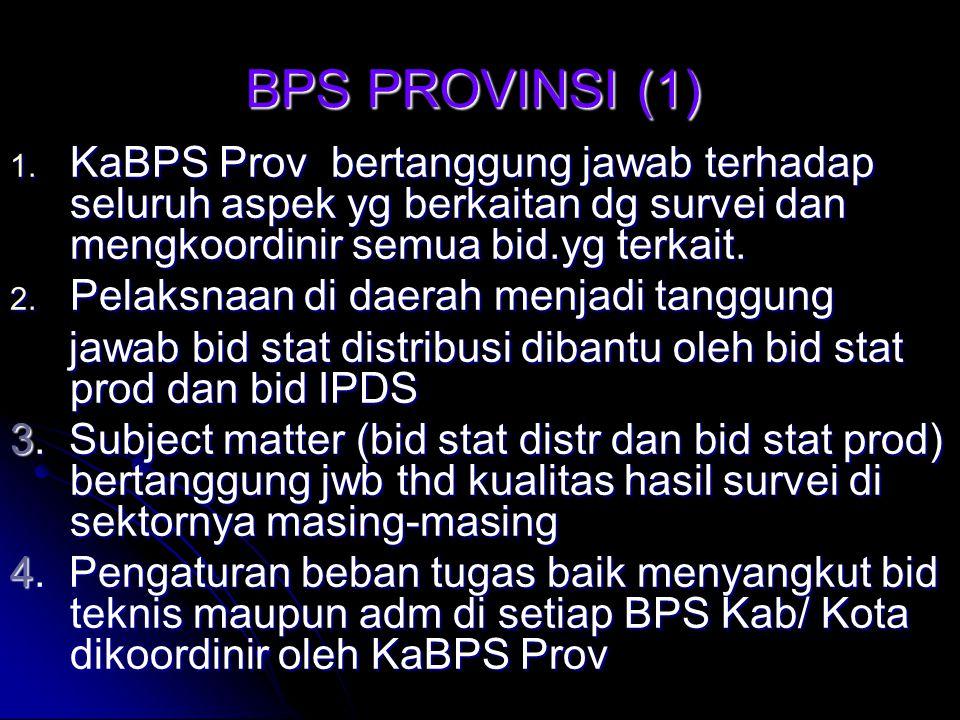 BPS PROVINSI (1) 1.