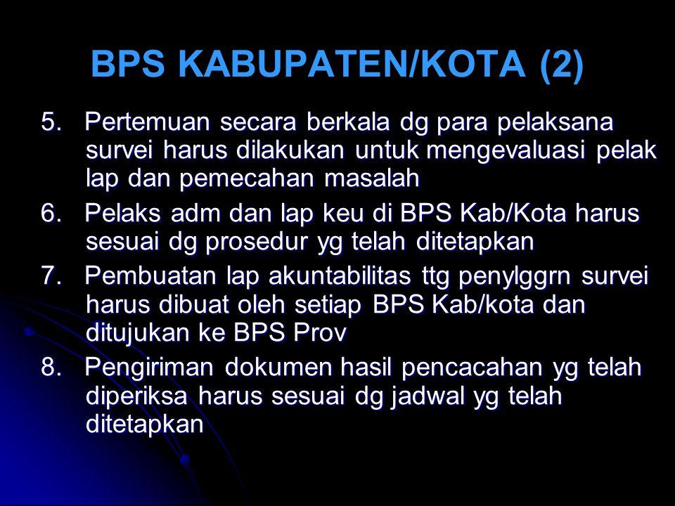 BPS KABUPATEN/KOTA (2) 5.
