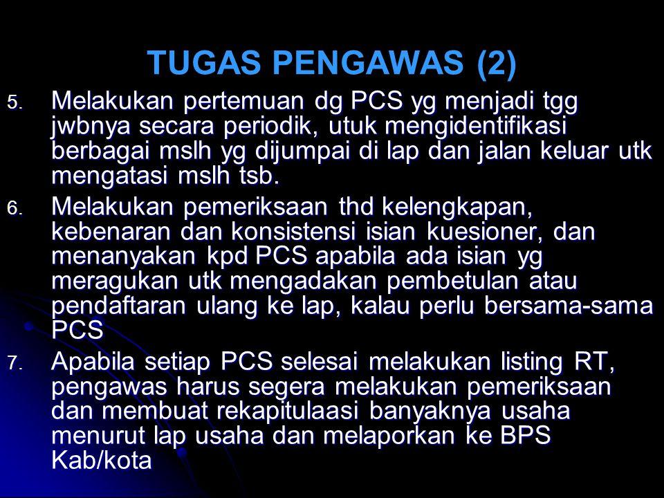 TUGAS PENGAWAS (2) 5.