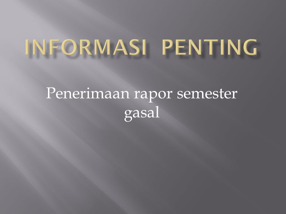 Pelajaran yang ada di kelas:  Pendidikan Religiositas  Pendidikan Kewarganegaraan  Bahasa Indonesia  Bahasa Inggris  Matematika  IPA:- Fisika - Biologi  Pendidikan Jasmani 2