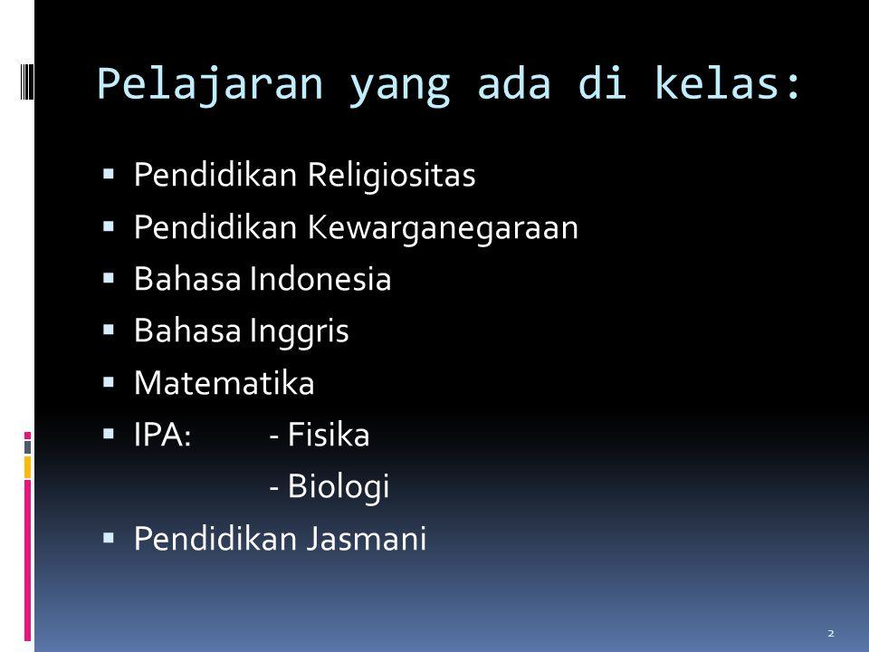  IPS:a.Sejarah b. Geografi c.