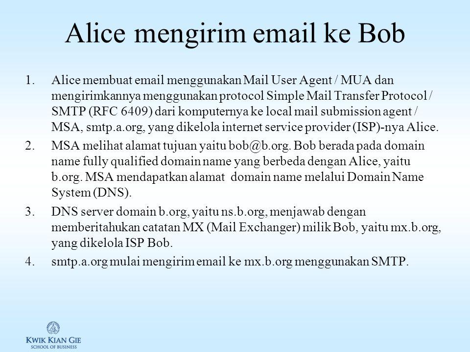 Bagaimana Email bekerja