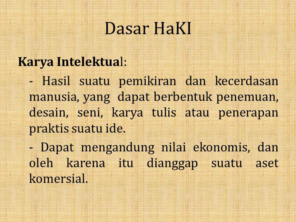 Sistem Paten Sistem paten yang dianut pemerintah Indonesia : dalam memberikan hak paten kepada pengusul, pemerintah Indonesia mengacu pada sistem First to File.