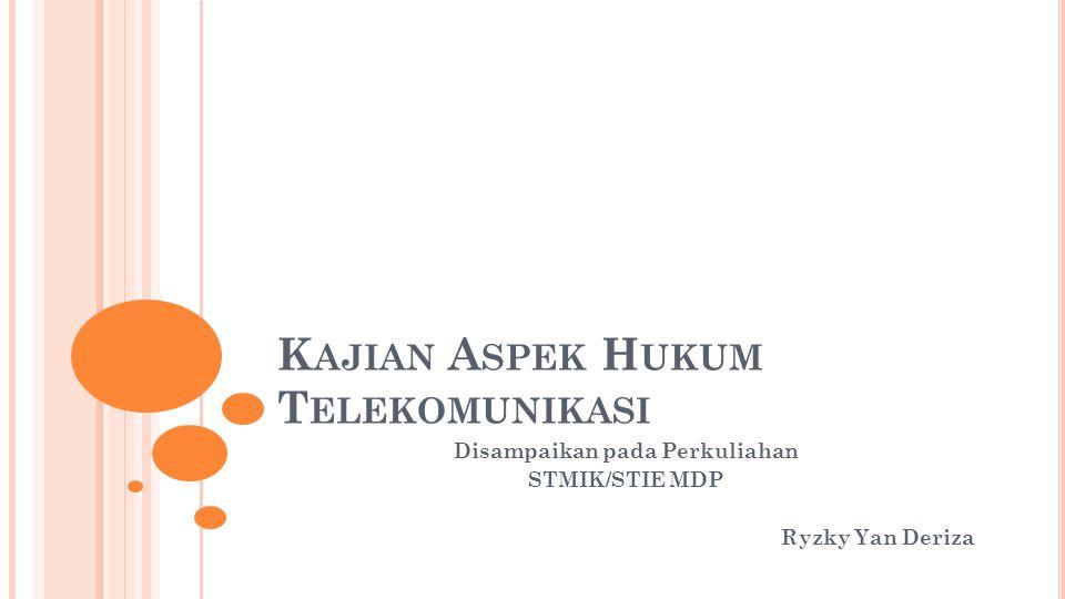 Dalam rangka pelaksanaan pembinaan telekomunikasi Pemerintah melibatkan peran serta masyarakat.