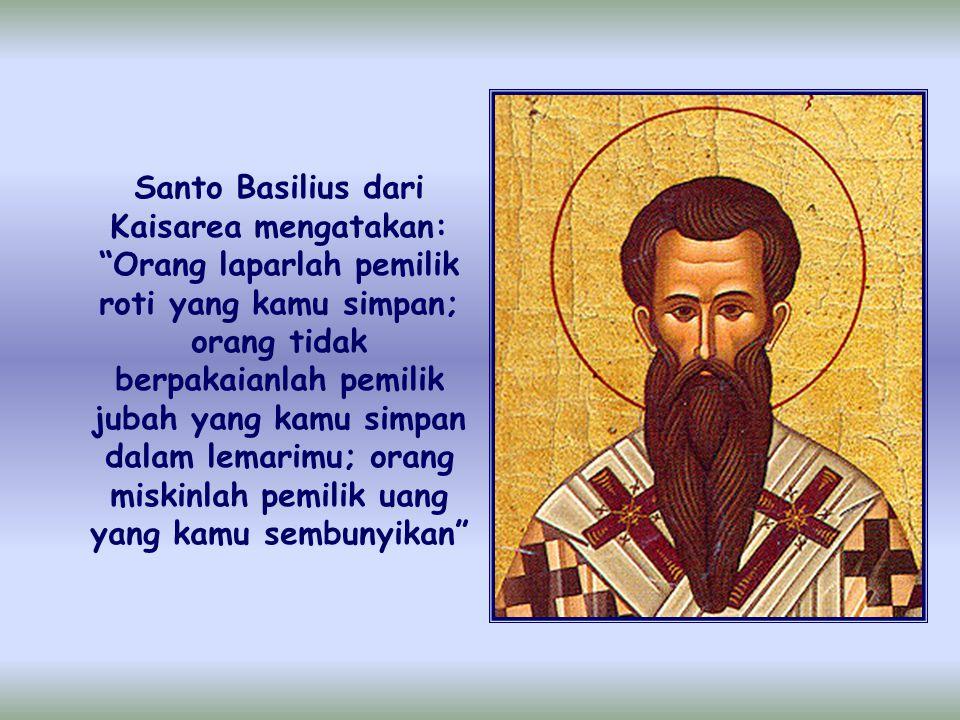 "Selanjutnya, Rasul Paulus menjelaskan bahwa mereka dibebani bukanlah supaya orang-orang lain mendapat keringanan, tetapi supaya ada keseimbangan"""