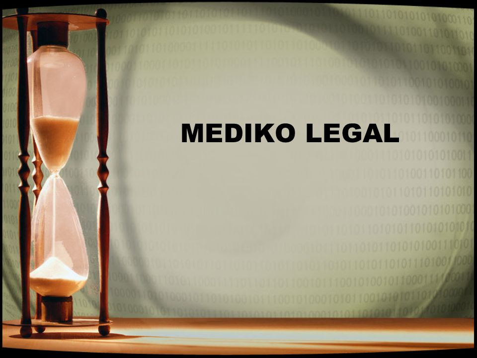 MEDIKO LEGAL