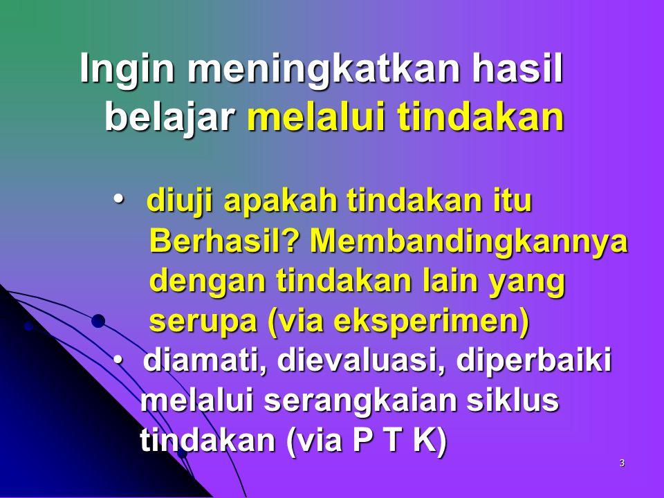 23 Judul Penelitian, A.Pendahuluan, = Latar Blk Masalah =.