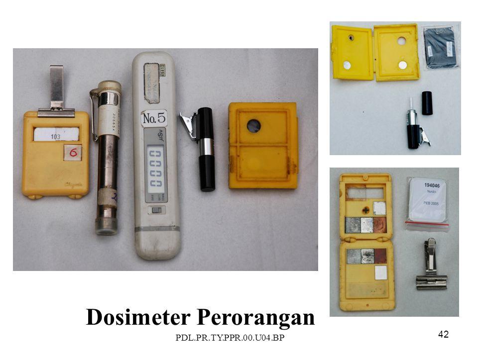 PDL.PR.TY.PPR.00.U04.BP 42 Dosimeter Perorangan