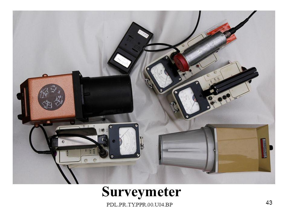 PDL.PR.TY.PPR.00.U04.BP 43 Surveymeter