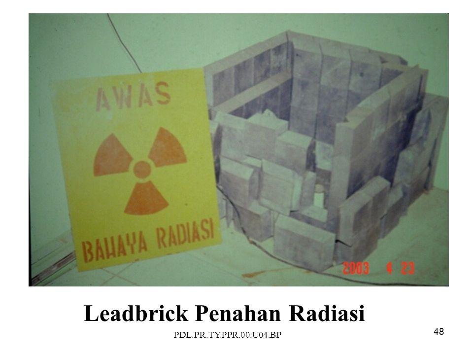 PDL.PR.TY.PPR.00.U04.BP 48 Leadbrick Penahan Radiasi
