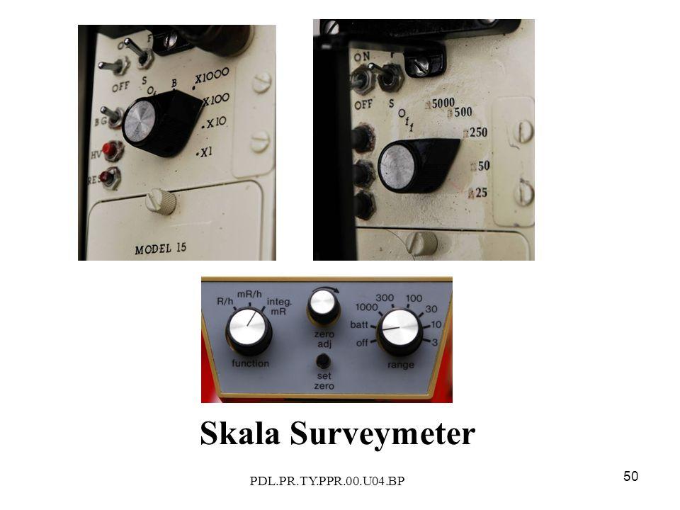 PDL.PR.TY.PPR.00.U04.BP 50 Skala Surveymeter