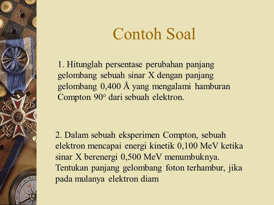 Contoh Soal 2.