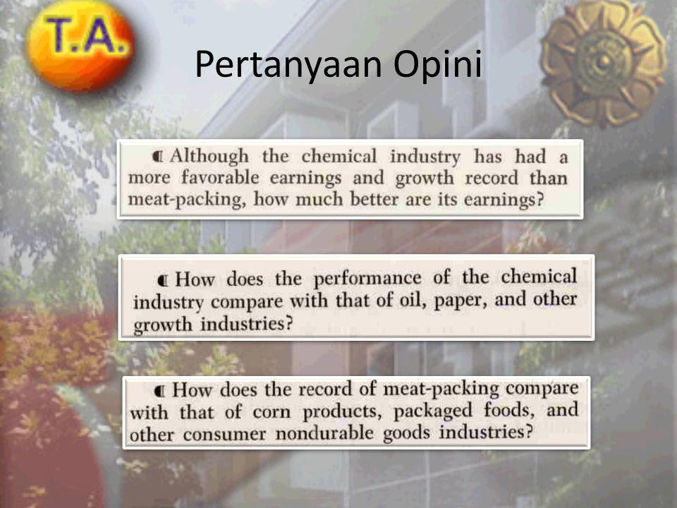 Industri yang mengalami penurunan
