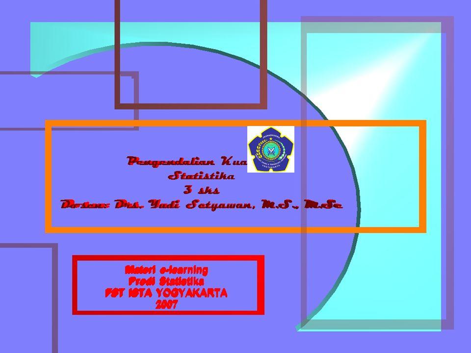 Dosen : Drs. Yudi Setyawan, M.S., M.Sc. 3 sks