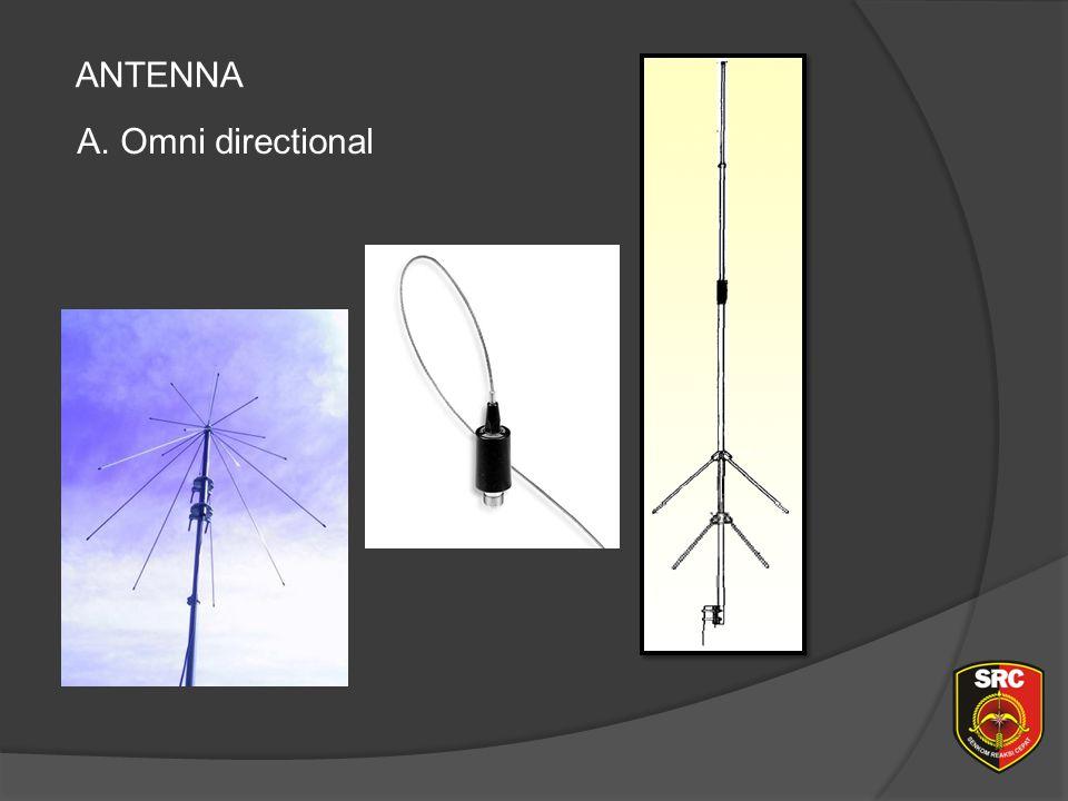 ANTENNA A. Omni directional