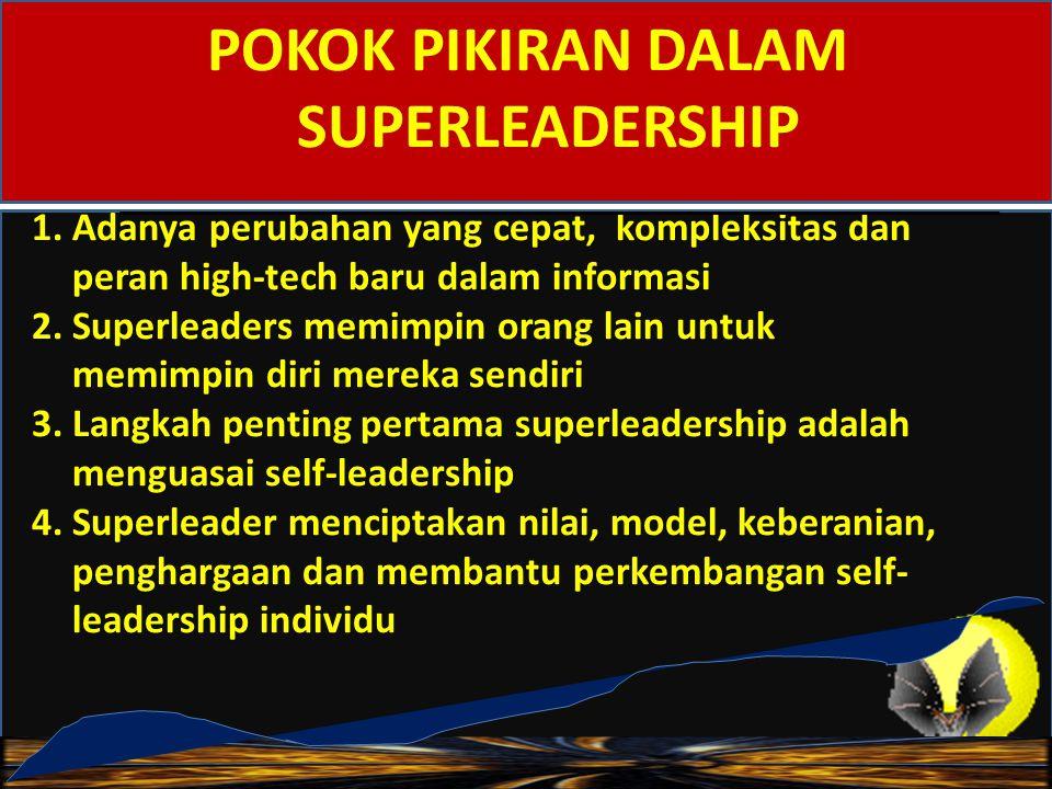 1. Kompetensi Leadhership 2. Kemampuan Intelektual 3. Memiliki Kharisma 4. Kecerdasan Emosional