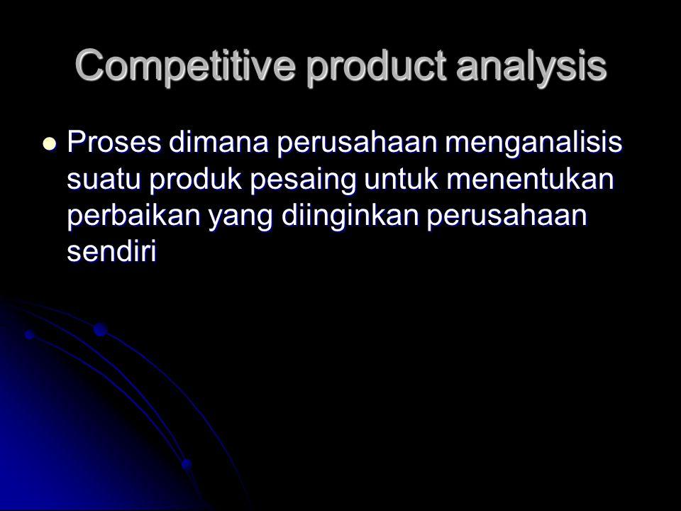 Analisa nilai tambah Proses pengevaluasian seluruh kegiatan kerja, alur bahan produksi dan administrasi untuk menetapkan nilai tambah yang diberikan konsumen Proses pengevaluasian seluruh kegiatan kerja, alur bahan produksi dan administrasi untuk menetapkan nilai tambah yang diberikan konsumen