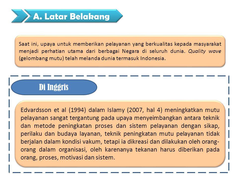 Mor, (1994) dalam Islamy (2007, hal 4) pemerintah Clinton dan Gore, meluncurkan inisiatif untuk memperbaiki mutu pemerintahan Federal dengan mengganti filosofi administrasi negara lama dengan administrasi Negara yang disemangati oleh Spirit Kewirausahaan.