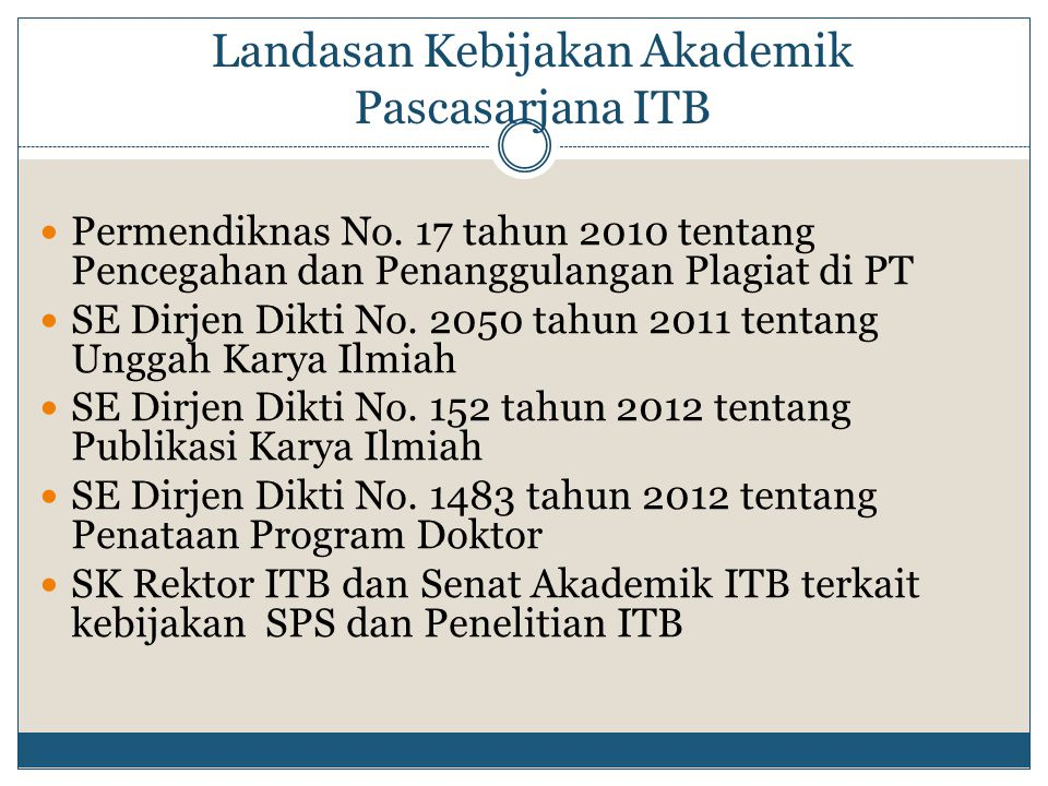 Statistik Program Doktor (2008-2013)
