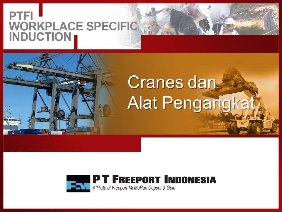 Alat Pengangkat Pengoperasian Crane 4.Harus ada prosedur yang terdokumentasi, yang mengharuskan : oSemua sambungan rigging harus diperiksa dan dalam kondisi yang benar sebelum mulai melakukan pengangkatan.