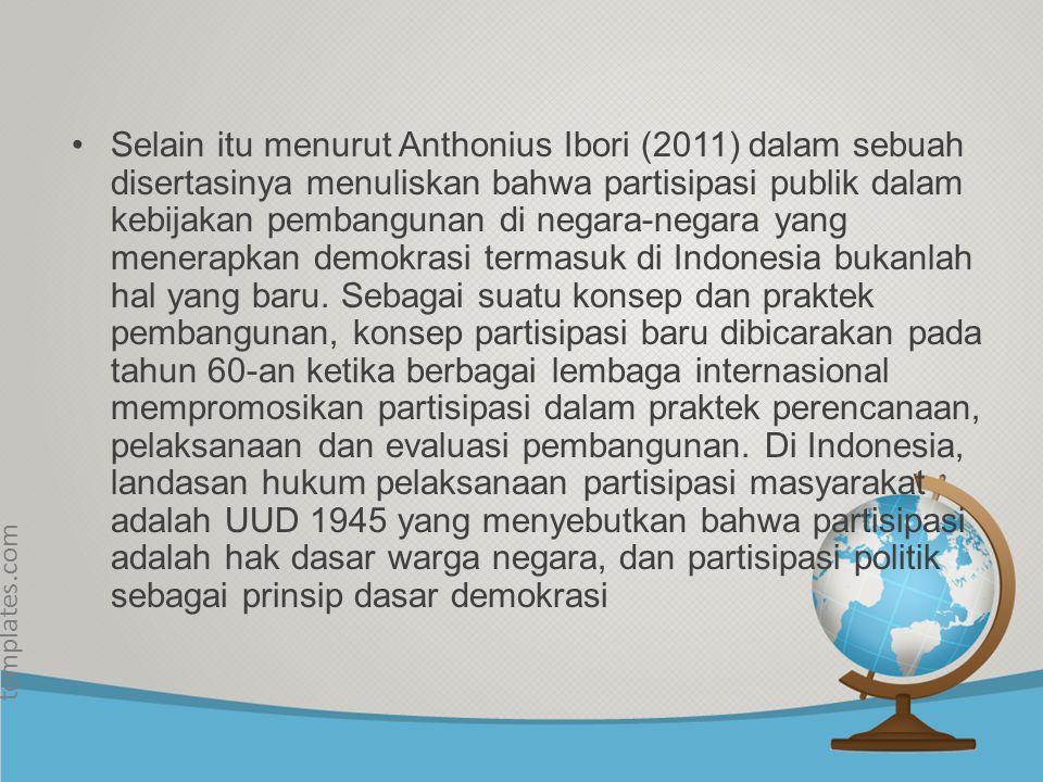 © free-ppt- templates.com Partisipasi masyarakat secara luas diharapkan dapat menjadikan pengimplementasian undang- undang berjalan dengan baik dan tu