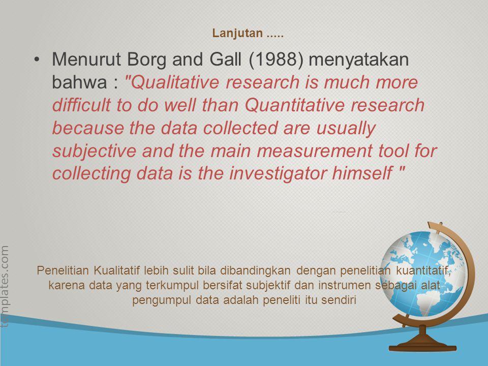© free-ppt- templates.com Intrumen Penelitian Instrumen utama dalam penelitian ini adalah peneliti sendiri.