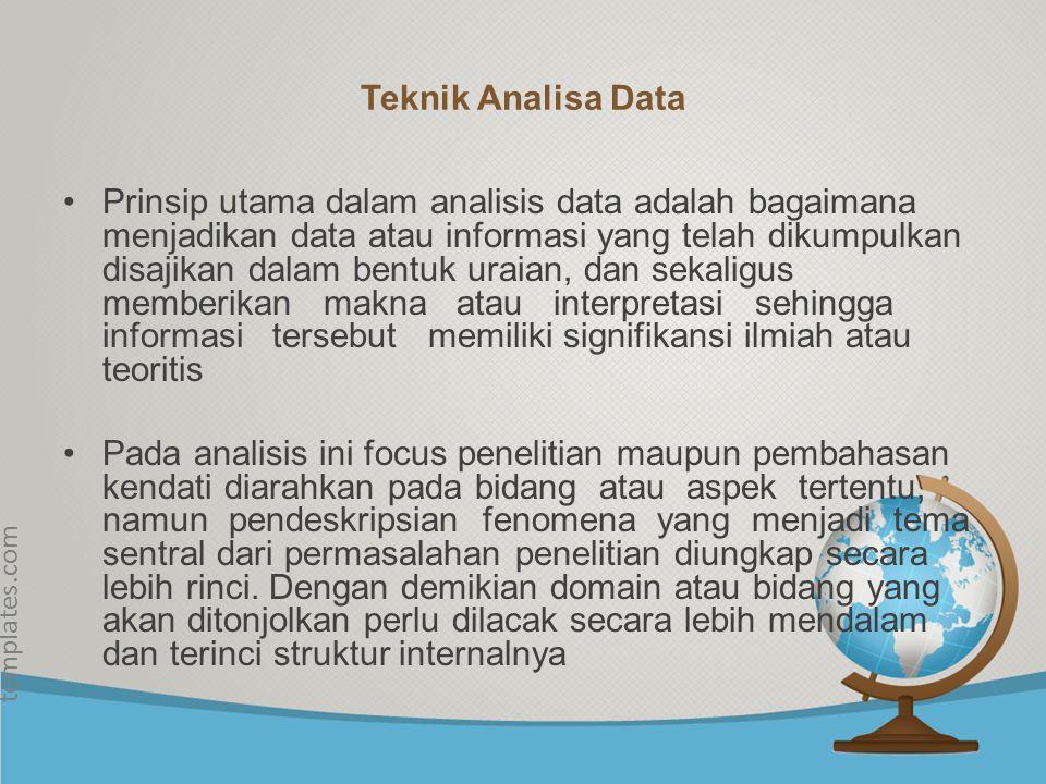 © free-ppt- templates.com Reduksi data, diartikan sebagai proses pemilihan pemusatan perhatian pada penyederhanaan pengabstrakan dan transformasi data kasar yang muncul dari catatan-catatan hasil penelitian di lapangan.
