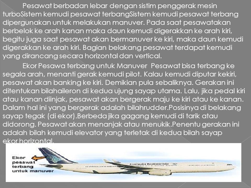 Fungsi foil adalah untuk mempermudah pesawat saat melakukan maneuver.