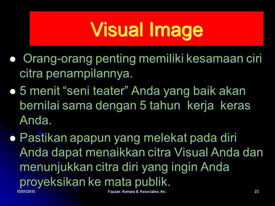 """Visual Image Orang-orang penting memiliki kesamaan ciri citra penampilannya. Orang-orang penting memiliki kesamaan ciri citra penampilannya. 5 menit """""""