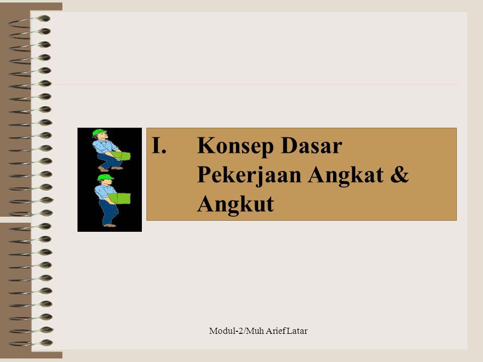 I.Konsep Dasar Pekerjaan Angkat & Angkut Modul-2/Muh Arief Latar