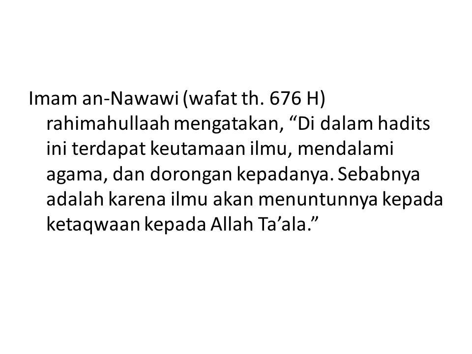Imam an-Nawawi (wafat th.