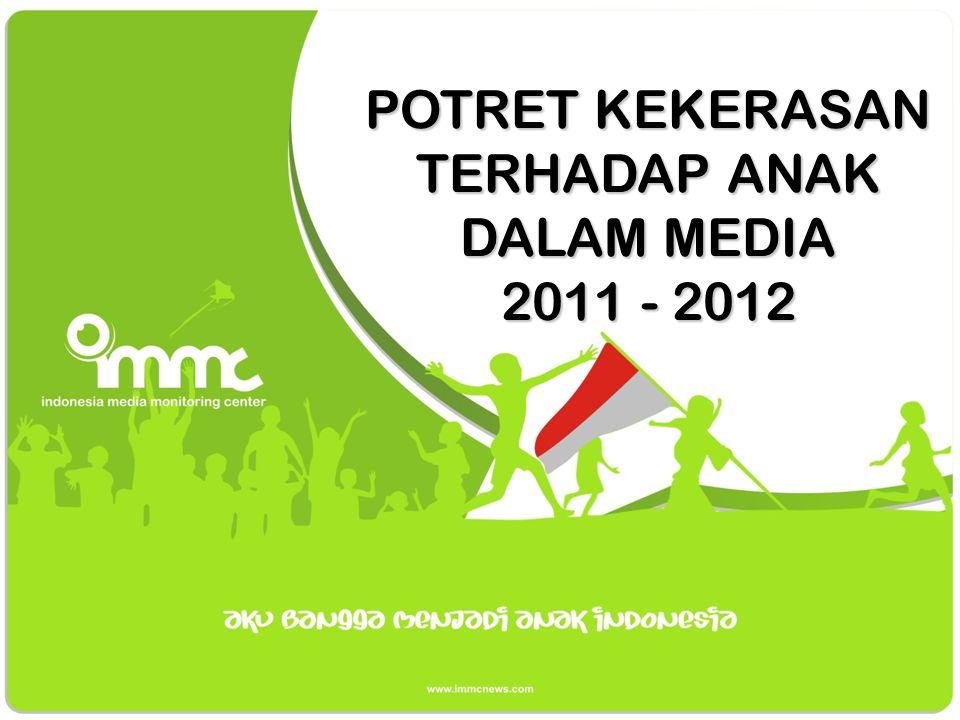 LAPORAN HASIL MEDIA MONITORING KEKERASAN TERHADAP ANAK 23 Juli 2011 – 15 Juli 2012 www.immcnews.com @Immcnews