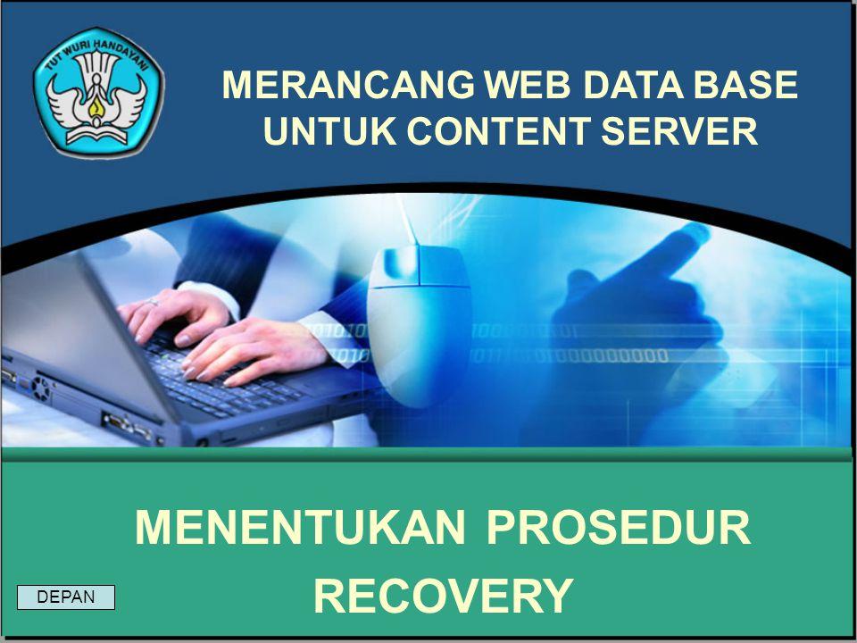 Modul 19 Merancang Web Data Base Untuk Content Server Soal : Sebutkan proses – proses perancangan database !